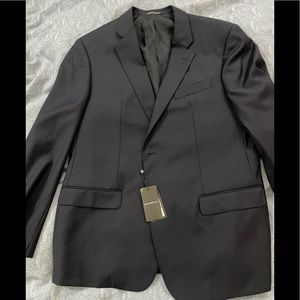 Emporio Armani G Line Solid Wool Blazer 58 (46 US)